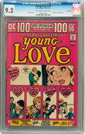 Bronze Age (1970-1979):Romance, Young Love #107 Savannah pedigree (DC, 1973) CGC NM- 9.2 Off-whiteto white pages....