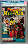 Silver Age (1956-1969):War, All-American Men of War #101 Savannah pedigree (DC, 1964) CGC NM 9.4 Cream to off-white pages....
