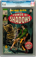 Bronze Age (1970-1979):Horror, Tower of Shadows Annual #1 Savannah pedigree (Marvel, 1971) CGC NM9.4 Off-white pages....