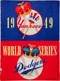 Autographs:Others, 1949 New York Yankees Team Signed World Series Program....
