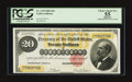 Large Size:Gold Certificates, Fr. 1178 $20 1882 Gold Certificate PCGS Apparent Choice About New 55.. ...