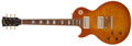 Musical Instruments:Electric Guitars, 1990 Gibson 1960 Re-issue Les Paul Standard Honey Burst Left HandedElectric Guitar, #00315....