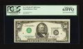 Error Notes:Inverted Third Printings, Fr. 2119-D $50 1977 Federal Reserve Note. PCGS Choice New 63PPQ.....