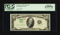Error Notes:Inverted Third Printings, Fr. 2011-A $10 1950A Federal Reserve Note. PCGS Choice New 63PPQ.....