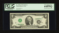 Error Notes:Inverted Third Printings, Fr. 1935-J $2 1976 Federal Reserve Note. PCGS Very Choice New64PPQ.. ...