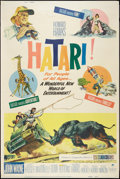 "Movie Posters:Adventure, Hatari! (Paramount, 1962). Poster (40"" X 60""). Adventure.. ..."