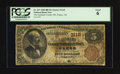 National Bank Notes:Nebraska, Wahoo, NE - $5 1882 Brown Back Fr. 467 The Saunders County NB Ch. # 3118. ...