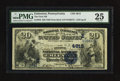National Bank Notes:Pennsylvania, Emlenton, PA - $20 1882 Date Back Fr. 550 The First NB Ch. #(E)4615. ...