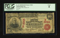 National Bank Notes:Pennsylvania, Clarion, PA - $10 1902 Red Seal Fr. 613 The Second NB Ch. #(E)3044. ...