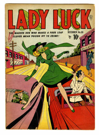 Lady Luck #86 (Quality, 1948) Condition: VG-