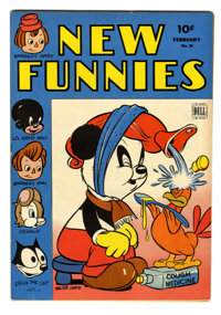 New Funnies #84 (Dell, 1944) Condition: VF