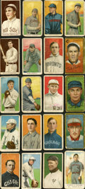 """Baseball Cards:Lots, 1910's """"E"""" and """"T"""" Collection (20) With Mathewson...."""