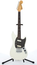 Musical Instruments:Electric Guitars, 1985/86 Fender Mustang White Electric Guitar # A017394....