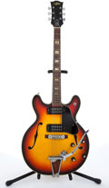 Musical Instruments:Electric Guitars, 1983 Aria Diamond 781 Sunburst Electric Guitar #32070896....