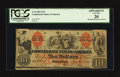 Confederate Notes:1861 Issues, T22 $10 1861 PF-1 Cr. 151.. ...