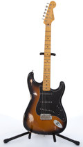 Musical Instruments:Electric Guitars, 1994/95 Fender Stratocaster Sunburst Electric Guitar #T036873....