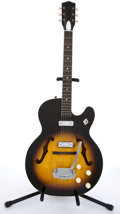 Musical Instruments:Electric Guitars, 1967 Harmony Rocket H1439 Sunburst Archtop Electric Guitar #2010H1439....