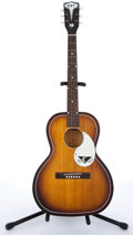 Musical Instruments:Acoustic Guitars, 1950s Kay Flat Top Sunburst Acoustic Guitar # N-6. ...