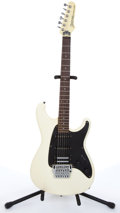 Musical Instruments:Electric Guitars, 1985 Ibanez Roadstar II White Electric Guitar # B850035....
