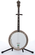 Musical Instruments:Banjos, Mandolins, & Ukes, 1929-31 Ludwig Kingston Tenor Banjo # N/A....