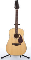 Musical Instruments:Acoustic Guitars, Fender F-310 Natural 12 String Acoustic Guitar #S000000070. ...