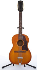 Musical Instruments:Acoustic Guitars, 1960s Gibson Sunburst 12-String Acoustic Guitar # 822860....