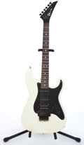 Musical Instruments:Electric Guitars, 1984 Charvel By Jackson Model III White Electric Guitar #229412....