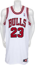 Basketball Collectibles:Uniforms, 1990's Michael Jordan Signed UDA Jersey....