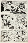 Original Comic Art:Panel Pages, John Buscema and Frank Giacoia The Avengers #85 page 9Original Art (Marvel, 1971)....