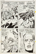 Original Comic Art:Panel Pages, John Buscema and Joe Sinnott Thor #190 page 10 Original Art(Marvel, 1971)....