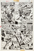Original Comic Art:Panel Pages, John Buscema and Joe Sinnott Thor #242 page 16 Original Art(Marvel, 1975)....