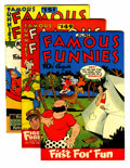 Golden Age (1938-1955):Miscellaneous, Famous Funnies Group (Eastern Color, 1946-55).... (Total: 13 Comic Books)