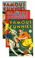 Golden Age (1938-1955):Miscellaneous, Famous Funnies Group (Eastern Color, 1945-46).... (Total: 5 Comic Books)