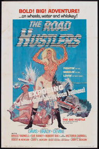 "The Road Hustlers (Saturn Productions, 1968). One Sheet (27"" X 41""). Action"