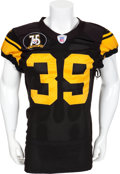 Football Collectibles:Uniforms, 2007 Willie Parker Game Worn Pittsburgh Steelers Jersey....