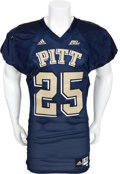 Football Collectibles:Uniforms, 2007 LeSean McCoy Game Worn Pittsburgh Panthers Jersey....