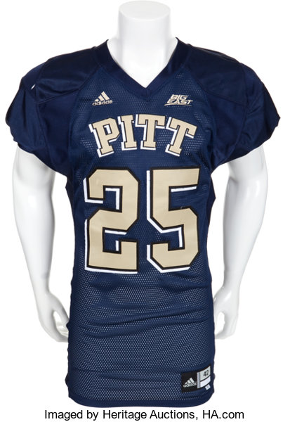 on sale 1ec77 78b27 2007 LeSean McCoy Game Worn Pittsburgh Panthers Jersey ...
