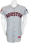 Baseball Collectibles:Uniforms, 1969 Jimmy Wynn Game Worn Houston Astros Jersey....