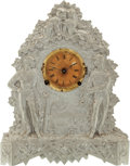 Baseball Collectibles:Others, 1876 Muller Decorative Baseball Clock with Cartwright &Chadwick Imagery....