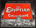 """Movie Posters:Historical Drama, The Egyptian (20th Century Fox, 1954). Pressbook (36 pages) (14"""" X18""""). Historical Drama.. ..."""