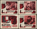"Movie Posters:Drama, Guest in the House (Astor, R-1952). Lobby Card Set of 4 (11"" X 14""). Reissued as ""Satan in Skirts."" Drama.. ... (Total: 4 Items)"