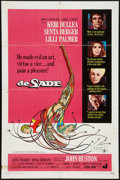 "Movie Posters:Exploitation, De Sade (American International, 1969). One Sheet (27"" X 41"").Exploitation.. ..."