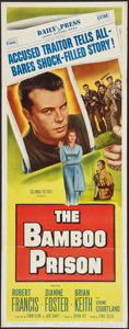 """Movie Posters:War, The Bamboo Prison (Columbia, 1954). Insert (14"""" X 36""""). War.. ..."""