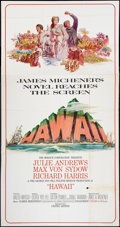 "Movie Posters:Drama, Hawaii (United Artists, 1966). Three Sheet (41"" X 81""). Drama.. ..."