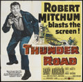 "Movie Posters:Crime, Thunder Road (United Artists, 1958). Six Sheet (81"" X 81""). Crime....."