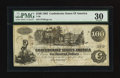 Confederate Notes:1862 Issues, T39 $100 1862 - J(ames) T. Miller Depositary.. ...