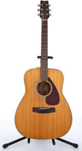 Musical Instruments:Acoustic Guitars, 1983 Yamaha FG-160 Natural Acoustic Guitar #30814411....