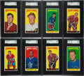Hockey Cards:Lots, 1964-65 Topps Hockey SGC-Graded Collection (8). ...