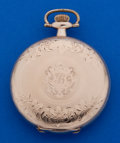 Timepieces:Pocket (post 1900), Rockford 17 Jewel 16 Size Hunter's Case Pocket Watches. ...