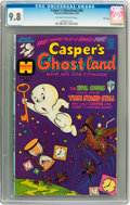 Bronze Age (1970-1979):Cartoon Character, Casper's Ghostland #83 File Copy (Harvey, 1975) CGC NM/MT 9.8Off-white to white pages....